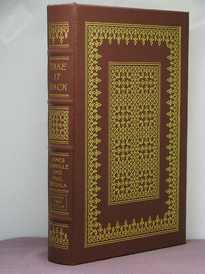 1st, signed by both, Love and War by James Carville & Mary Matalin, Easton Press