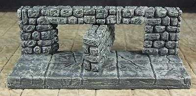 Painted Secret Wall - Works with Dungeonstone and with Dwarven Forge and DnD D&D