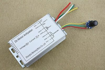 36V 30A DC Motor Speed Control PWM Controller RC Models