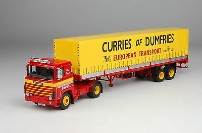 Tekno Currie of Dumfries Scania LB111 4 x 2 with 2-axle Tilt Trailer
