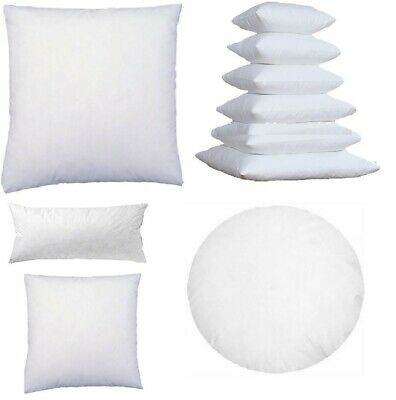 Cushion Insert  Aust Made Polyester Premium Lofty Fibre 10 Sizes Available New