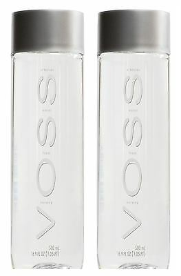Voss Still Water - Plastic Bottle - 500ml (Pack of 2)