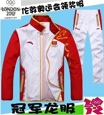 2012 London Olympics, the Chinese team champion ANTA sportswear clothing