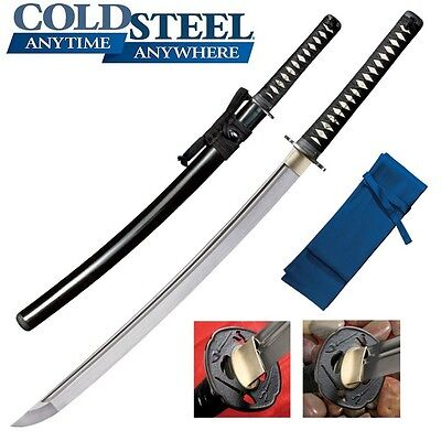 Cold Steel - Warrior Chisa Katana with Scabbard 88BCK New