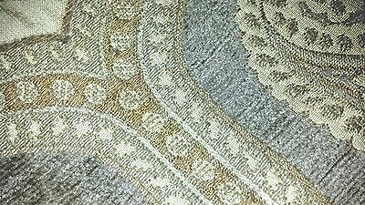 (2) HIGHLAND COURT Fabric Remnants - 180750H - CHENILLE - 18x17   ITALY  $314yd