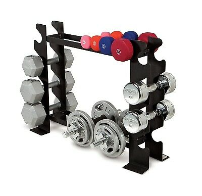 Dumbbell Rack Gym Workout Storage Exercise Weights Fitness Barbell Weight Bench