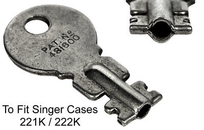 SINGER 221K / 222K Featherweight Original Case Key - Sewing Machine Key