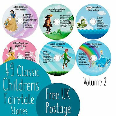 49 Classic Children's Fairy Tale Audio Story Books On 6 CD'S Volume Two