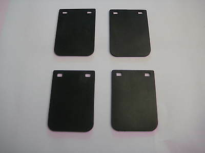 4 Mud Flaps for Tonka or Custom Pressed Steel Toys State Hiway-parts