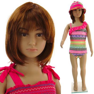 Girl/ Boy Mannequin+stand, abt 5yrs old, female child mannequin-CB1