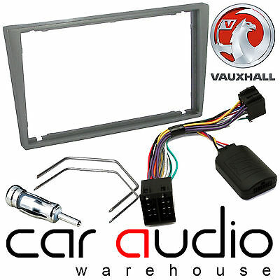 Vauxhall Omega 2000-04 Car Stereo Radio D/Din Fascia & Steering Wheel Interface
