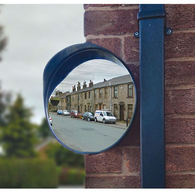 "Roadside Convex Mirror - 30Cm /12""- Ideal For Drive Exits & Security Warehouse"