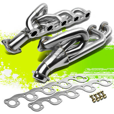 FOR DODGE RAM BR//BE 2500//3500 8.0 MAGNUM STAINLESS EXHAUST CHROME HEADER+GASKETS