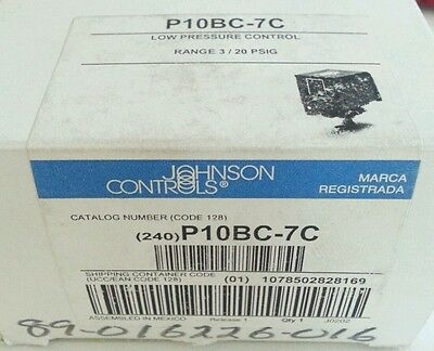 Johnson Controls Low Pressure 3 20 PSIG