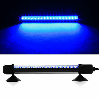 Blue Submersible Aquarium  Light Bar Fish Tank Waterproof  LED with UK Plug