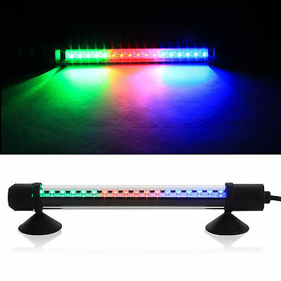 RGB Submersible Aquarium  Light Bar Fish Tank Waterproof  LED with UK Plug • EUR 13,16