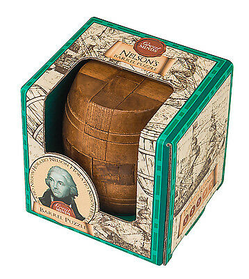 Professor Puzzle Great Minds - Nelson's Barrel Puzzle - Brand New Brain Teaser