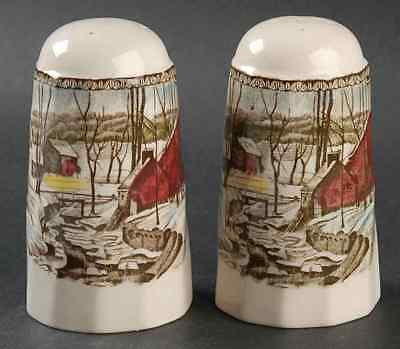Johnson Brothers THE FRIENDLY VILLAGE (MADE IN ENGLAND) Salt & Pepper 844933