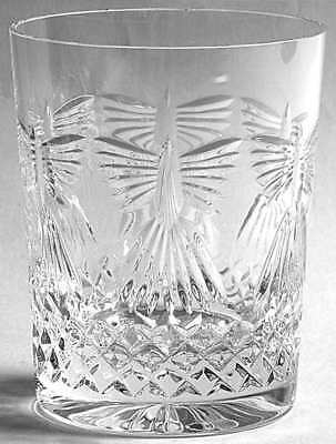Waterford MILLENNIUM SERIES Peace Double Old Fashioned Glass 4534594