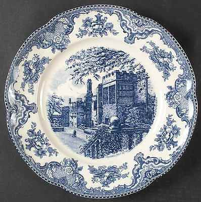 Johnson Brothers OLD BRITAIN CASTLES BLUE Chop Plate (Round Platter) 5937477