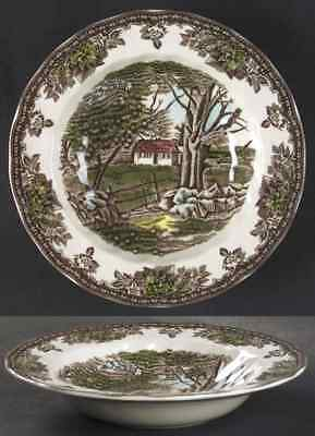 Johnson Brothers THE FRIENDLY VILLAGE Rimmed Soup Bowl (Imperfect) 7660529