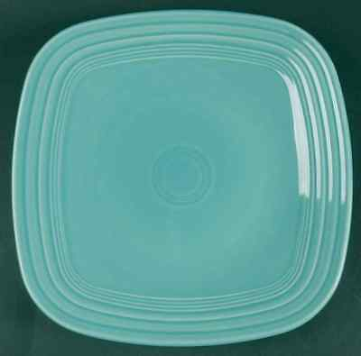Homer Laughlin FIESTA TURQUOISE (CONTEMPORARY) Square Dinner Plate 8151799  sc 1 st  PicClick & RARE HOMER Laughlin Fiesta Chocolate Square Dinner Plate - $52.50 ...