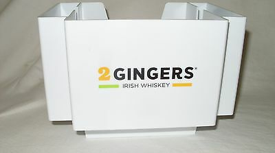 2 Gingers Irish Whiskey - Promo Barware Napkin & Stirrer Caddy *new*