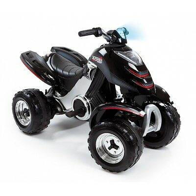Smoby X-Power Quad Carbone 33050 Elektronisch Batterie Akku Kinderrutscher Led