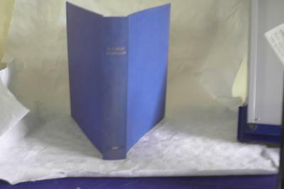 Railway Modeller Binder Blue 1960 Holds 12 issues, includes 1960 index