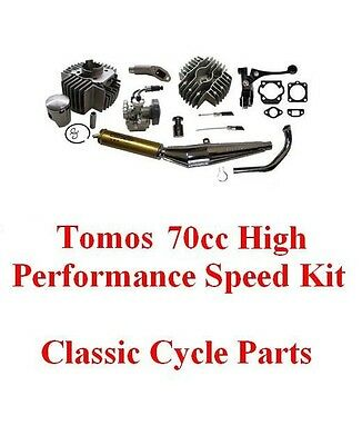 Tomos A55 70cc Big Bore Hi Performance Compl Engine Kit Targa LX Sprint ST Arrow