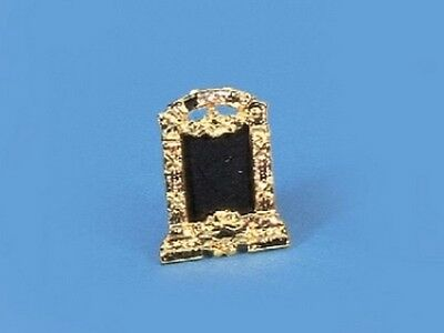 Brass Photo Frame With Embedded Jewels, Dolls House Miniature Picture Frames