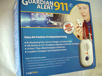 LogicMark Guardian Alert 911 Model # 30911 VOIP Compatible - NEW