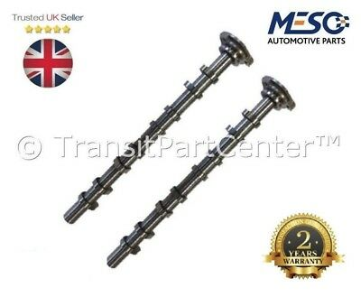 Pair Of Exhaust & Inlet Camshaft Ford Transit Mk7 2006-2015 2.4