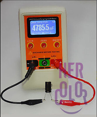 M4070 AutoRanging LCR Meter Up to 100H 100mF 20MR and SMD Clamp