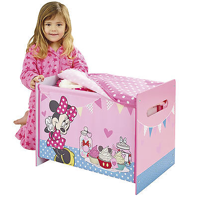 Worlds Apart Disney Minnie Mouse Cosy Time Toy Box kids bedroom furniture