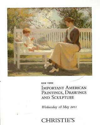Christie's 2444 American Paintings Drawings Sculpture Auction Catalog May 2011