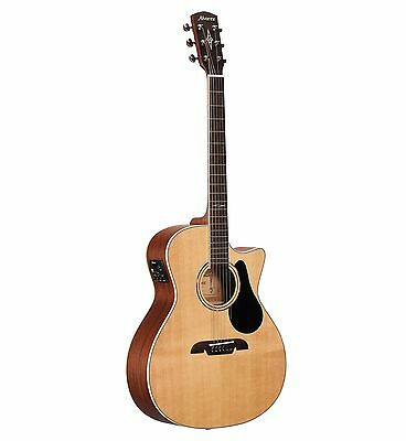 Alvarez Model AG60CE Guitar - Grand Auditorium Size Cutaway Acoustic Electric