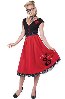 Adult Red Poodle Dress Costume