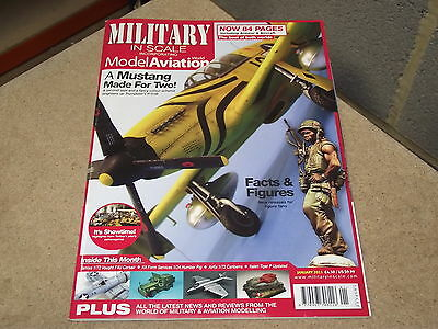 Military In Scale Magazine 2011 Jan - Trumpeter P-51B, KFS Humber Pig, Canberra