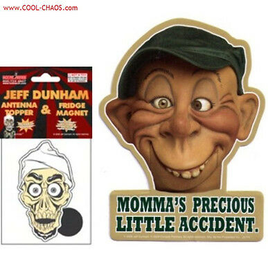 jeff dunham achmed walter peanut bubba magnet pack new. Black Bedroom Furniture Sets. Home Design Ideas