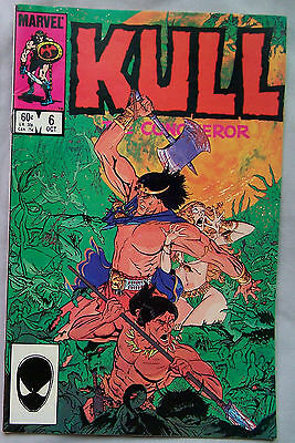 Kull the Conqueror #6 (Oct 1984, Marvel)     A1661