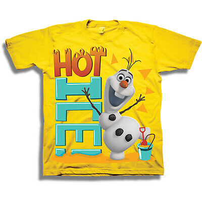 Frozen Olaf T-Shirt Top 2T or 4T Toddler You Choose Boys or Girls Disney