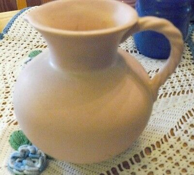 Royal Haeger Rope Handle Pitcher JUG~RG-28~HICKMAN~Mint