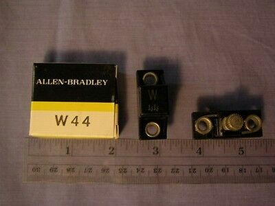 2 Allen Bradley W44 Eutactic Alloy Heater Elements