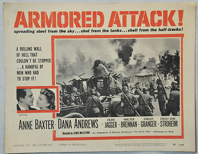 The North Star Armored Attack!  Anne Baxter, Dana Andrews llo147