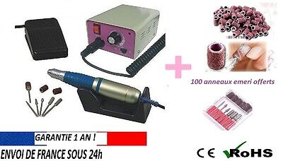 kit Ponceuse ongle manucure 30000 tr/min professionnelle sina MERCEDES ongles