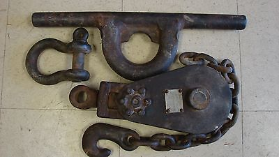 Snatch Block, Shive, Wishbone, Cable Hook, Winch Truck Parts, DRH/ Johnson