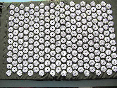 Acupressure Acupuncture Mat Healing Massager Spike Stress Back Pain Tension Yoga