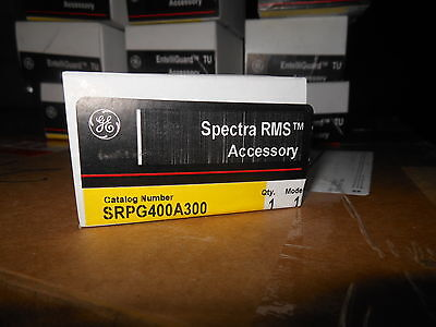 GE Spectra SRPG400A300 300amp circuit breaker rating plug new in box Warranty!