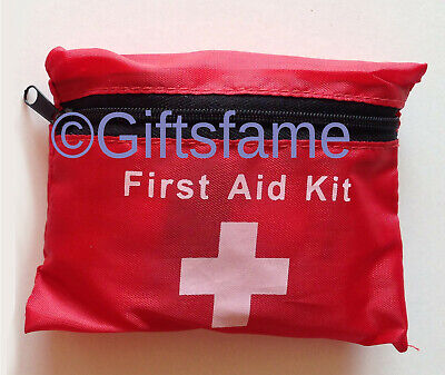 38 Piece Compact First Aid Belt Medical Kit Small Travel Sports Home Office Car